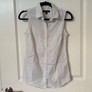 Banana Republic Riley Tailored Sleeveless Shirt